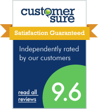 We use CustomerSure to check that our customers are happy - every time.
